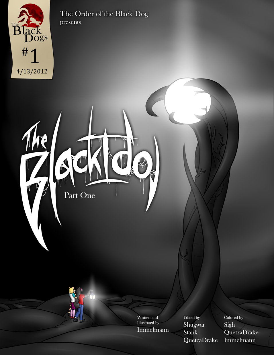 Issue 1, Cover