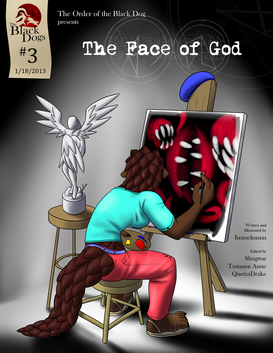 Issue 3, Cover