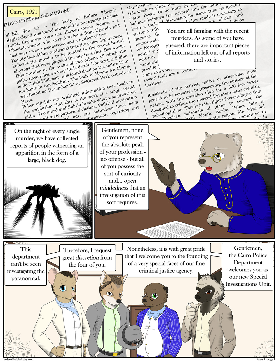 Issue 4, Page 1