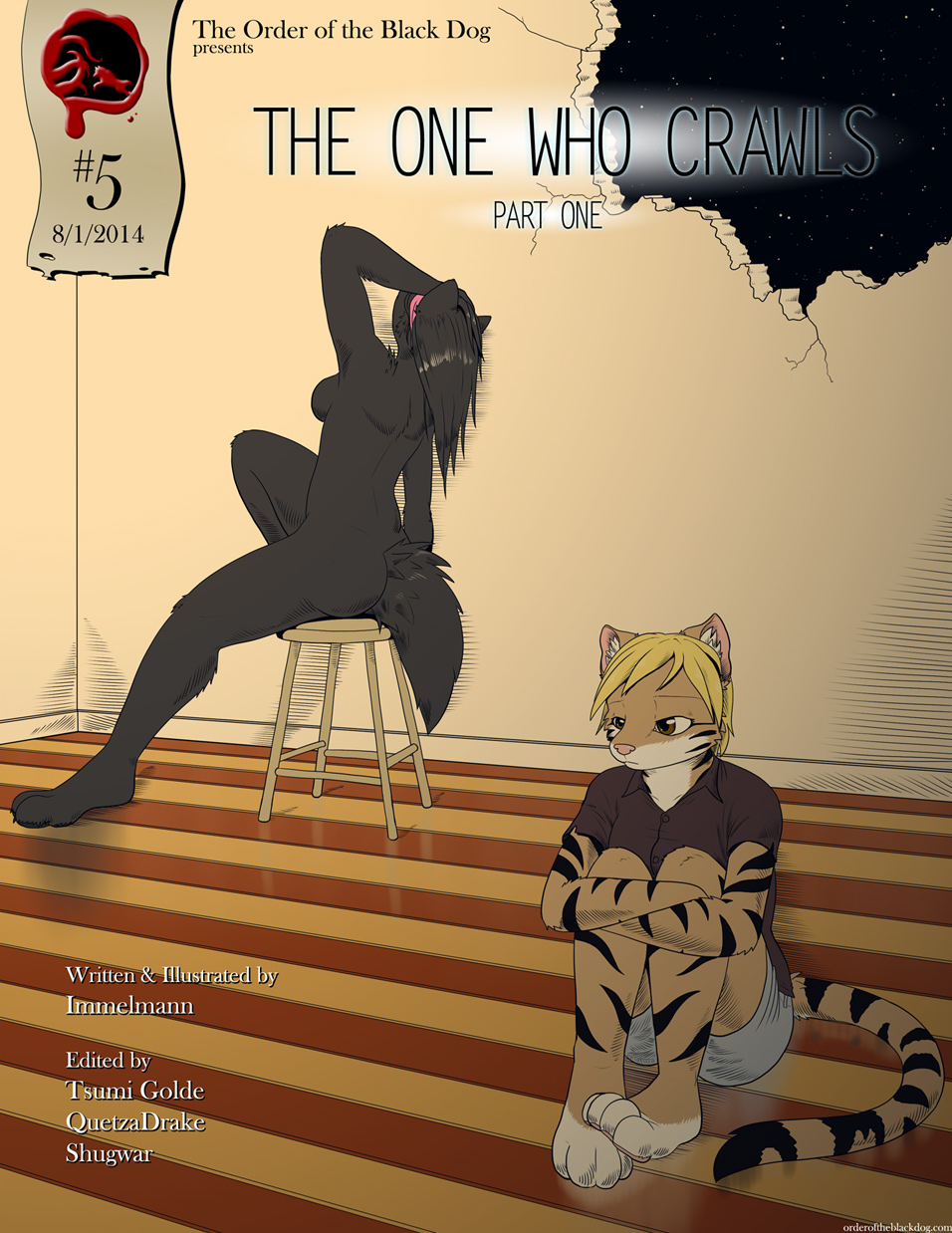 Issue 5, Cover