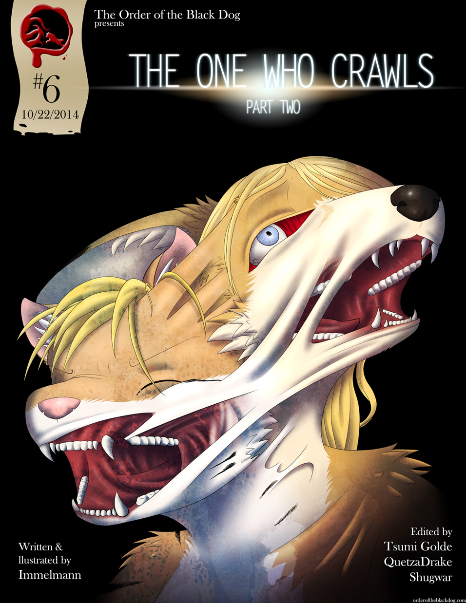Issue 6, Cover