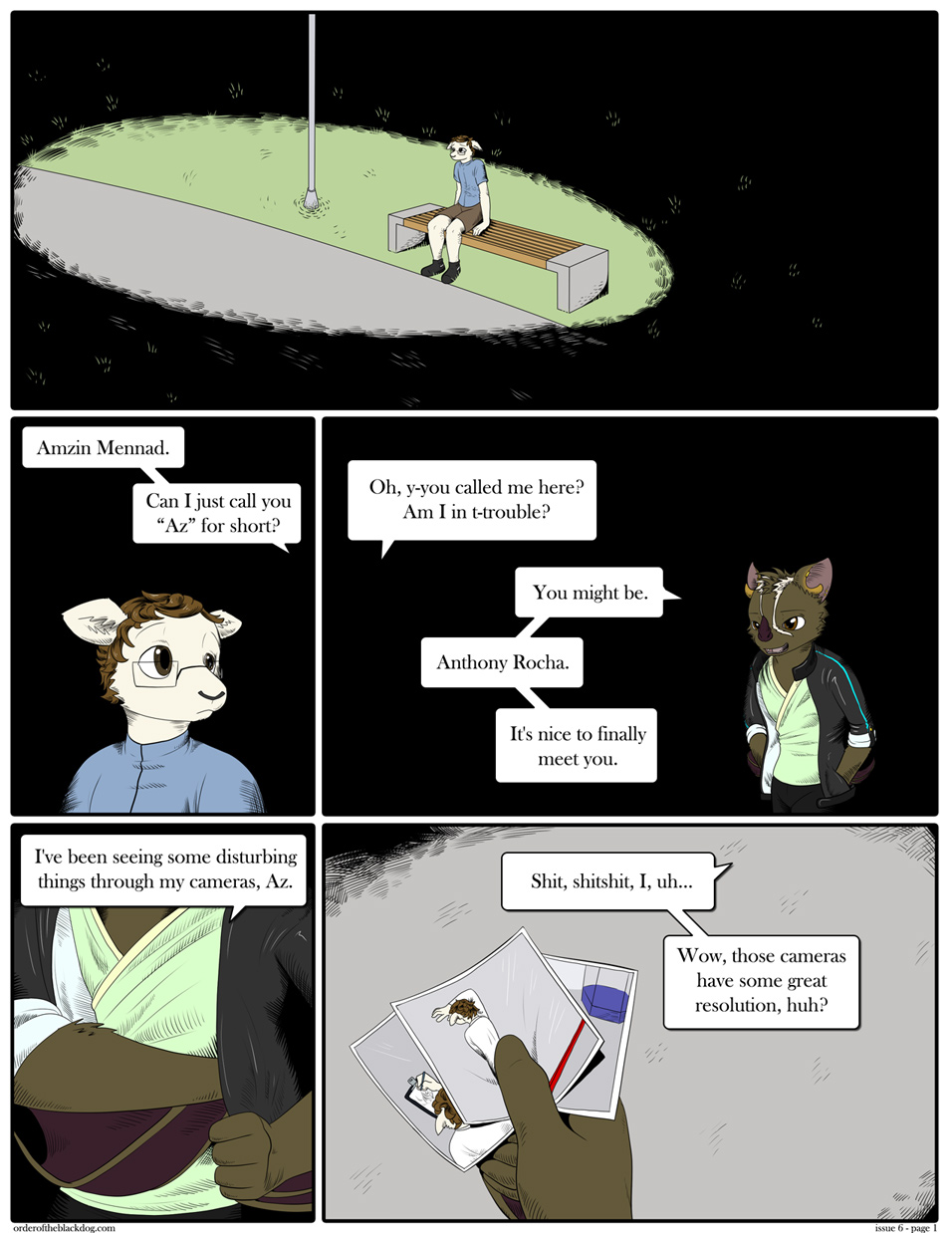 Issue 6, Page 1