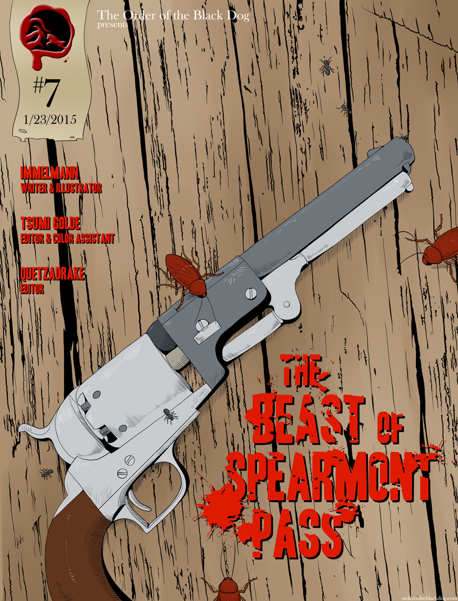 Issue 7, Cover