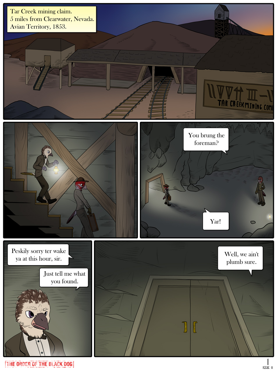 Issue 11, Page 1