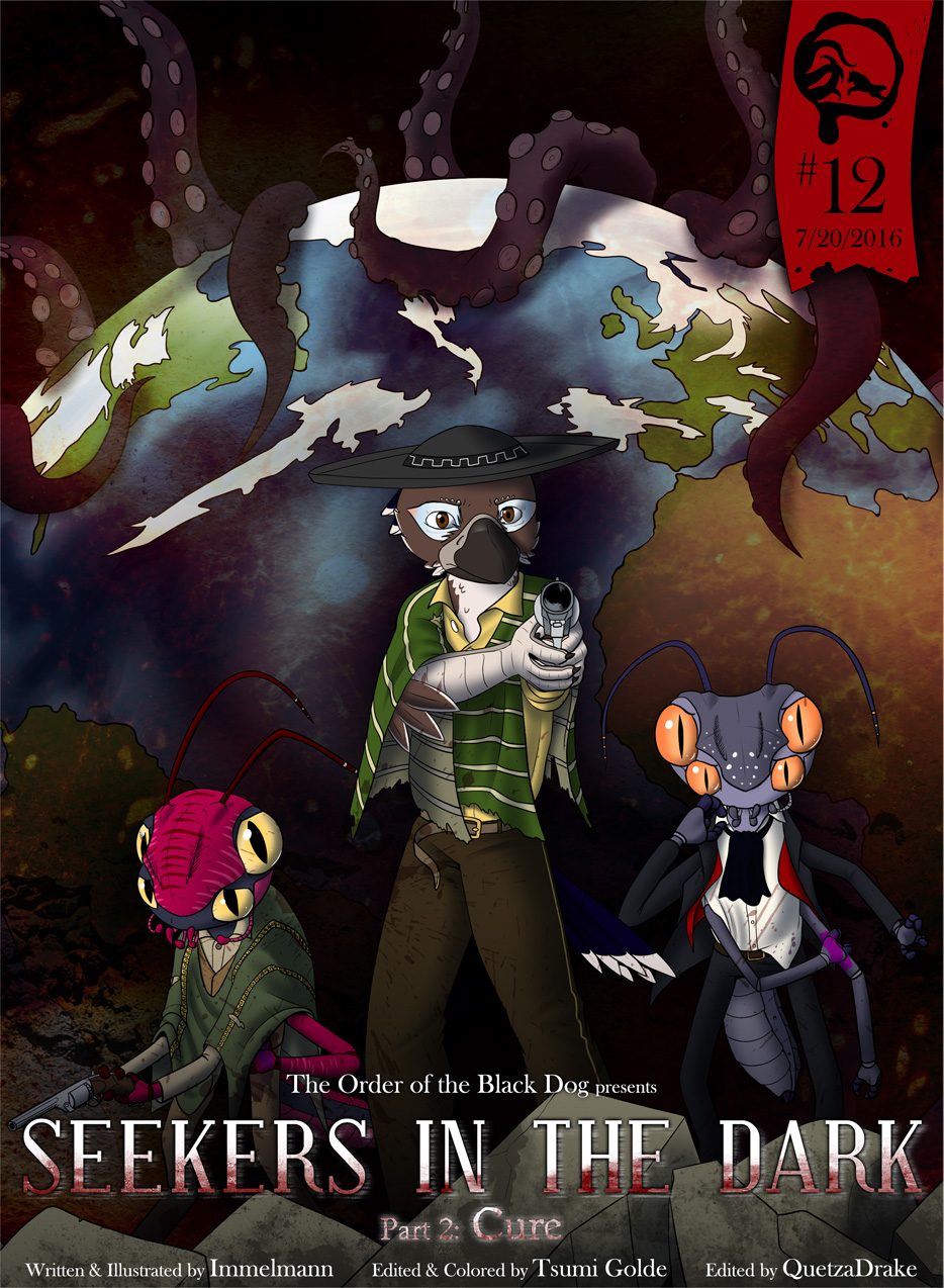 Issue 12, Cover