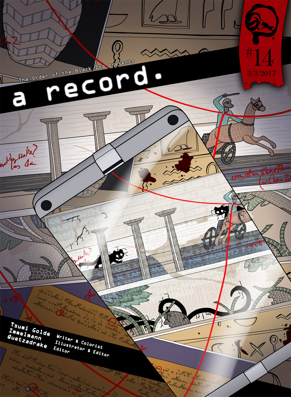 Issue 14, Cover