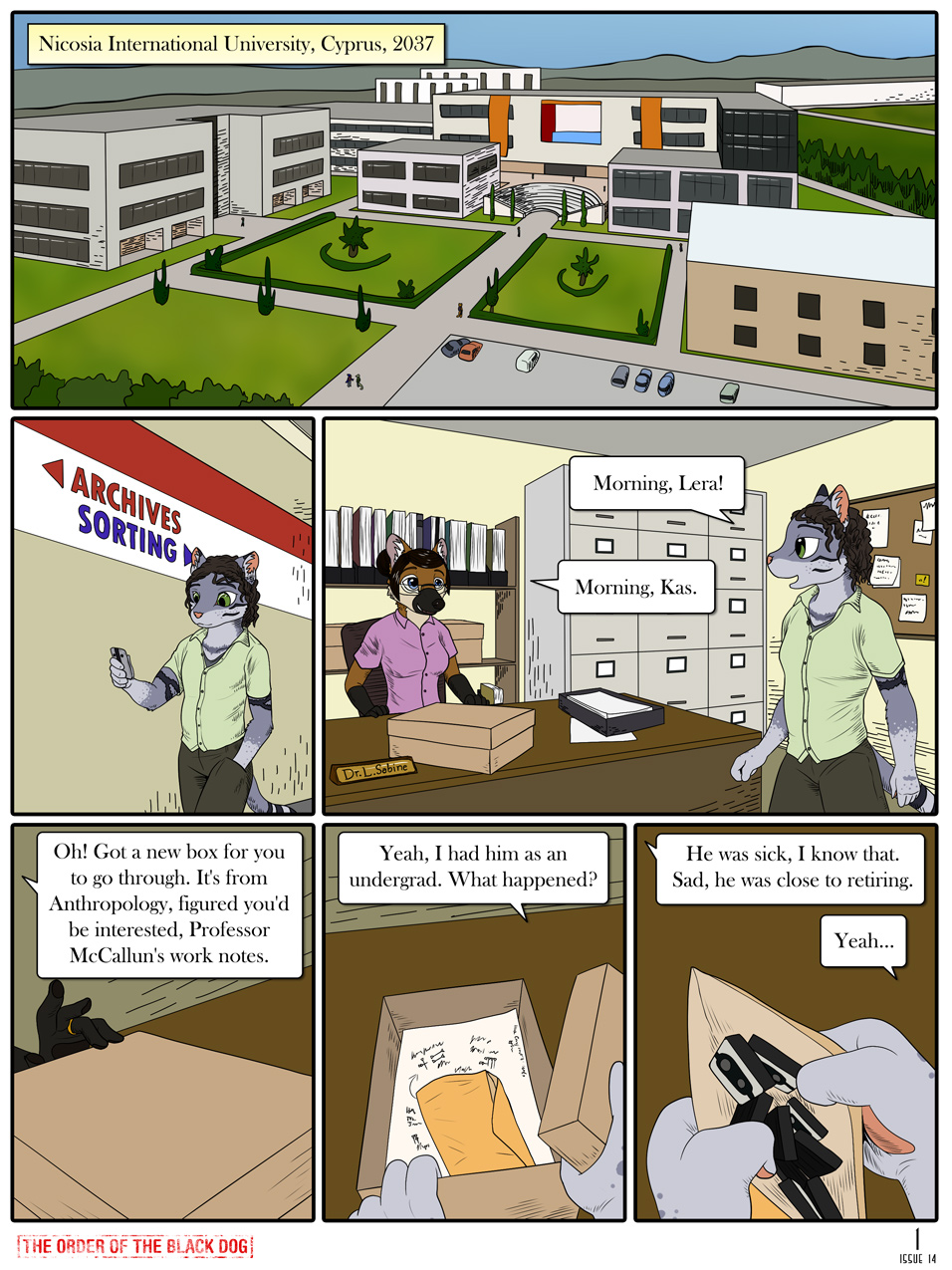 Issue 14, Page 1