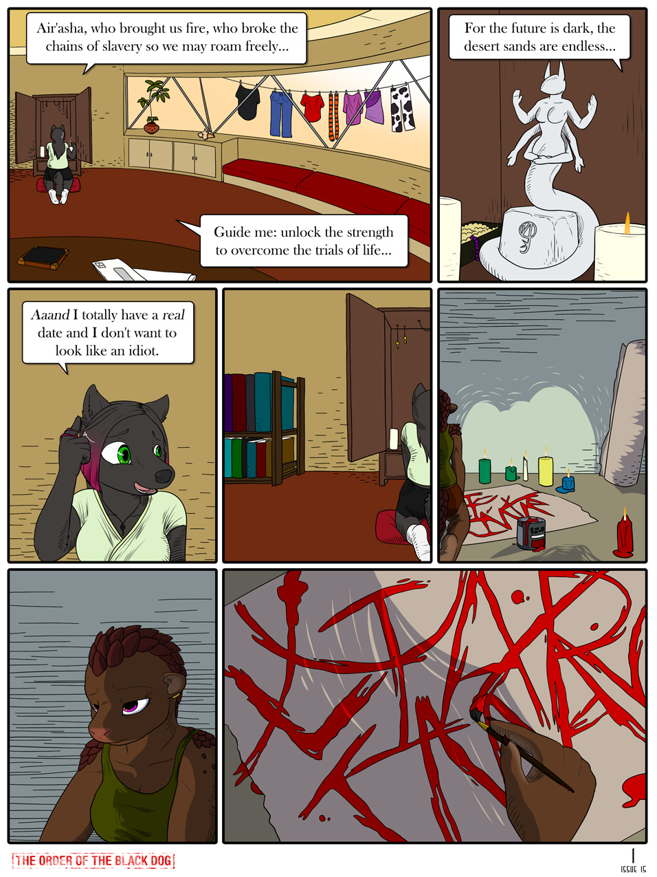 Issue 15, Page 1