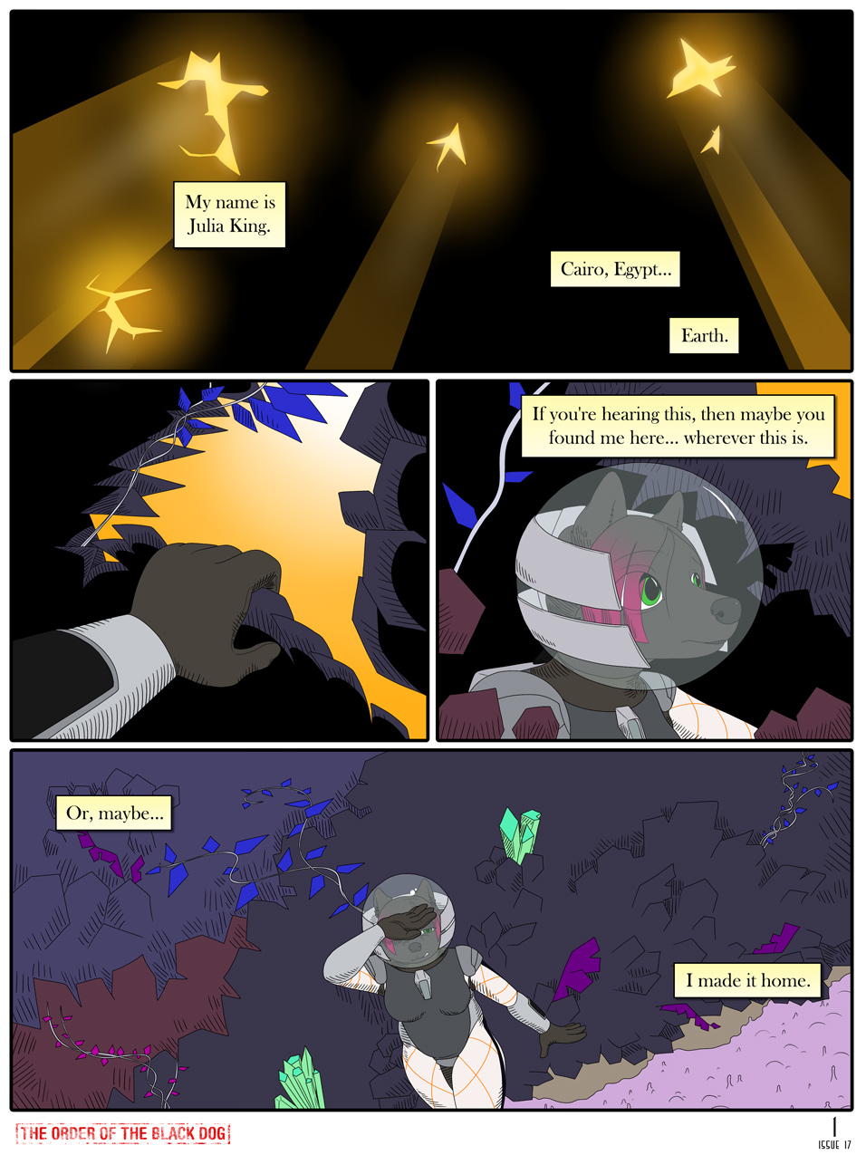 Issue 17, Page 1