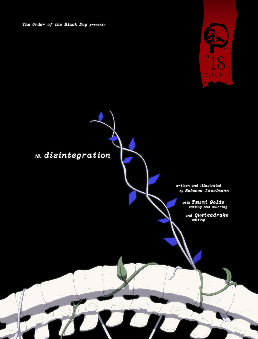 Issue 18, Cover