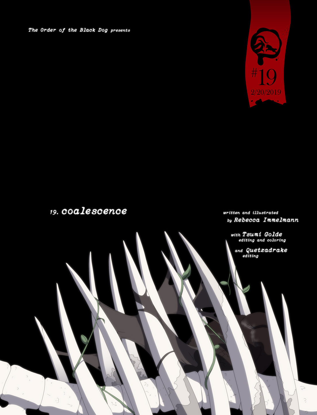 Issue 19, Cover